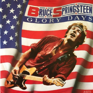 "Bruce Springsteen ‎- Glory Days (7"") (VG/VG)"